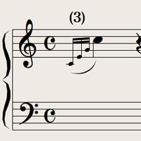 装飾音符とアルペジオ(インディペンデント)
