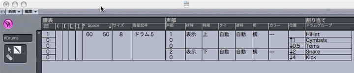 Logic7 マップドスコアスタイル