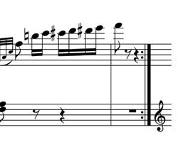 Logic7 音部記号の位置が変更できない例