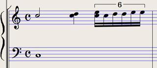 Logic7 スコアウィンドウ › クオンタイズによる音符の整列
