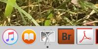 OSXのスクリーンショットアプリ「グラブ」をドックに保存